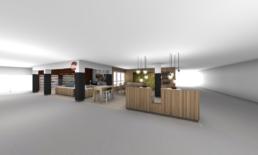 Relais H café – Modélisation 3D