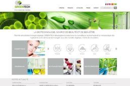 Greentech - Site Wordpress