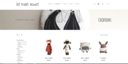 Les folies douces - ecommerce Wordpress