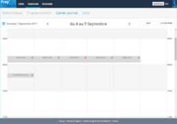 Editions Retz – Gestion de planning des enseignants