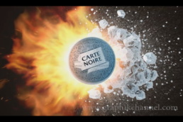 Pub « Carte Noire » version Microsoft Xbox